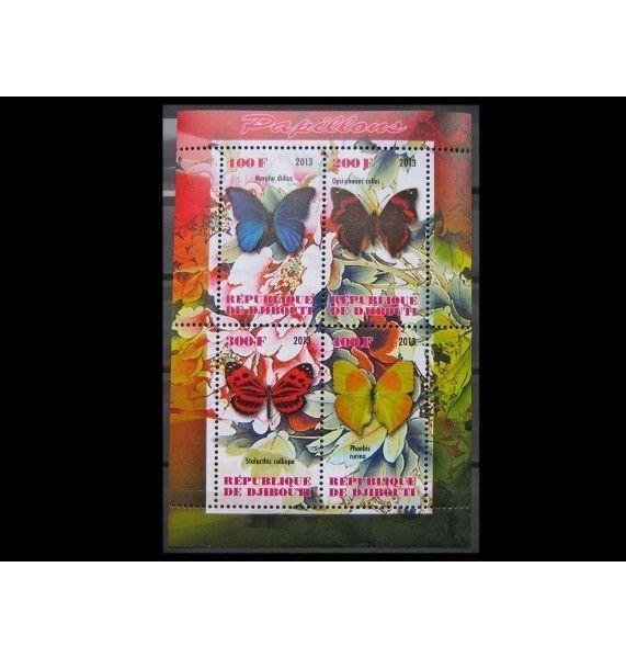 """Джибути 2013 г. """"Бабочки"""""""