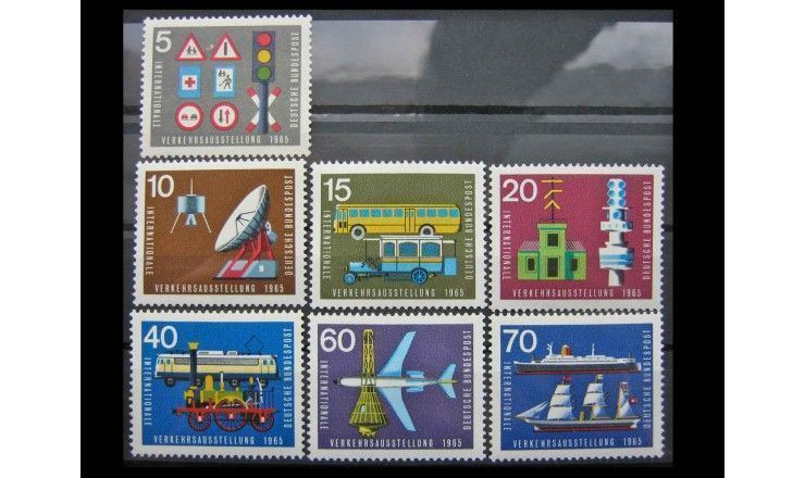 """ФРГ 1965 г. """"Международная транспортная выставка, Мюнхен"""""""
