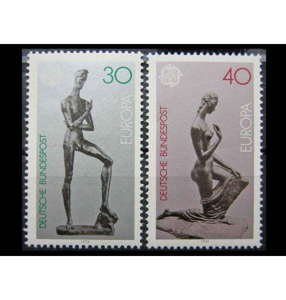"""ФРГ 1974 г. """"Европа: Скульптуры"""""""