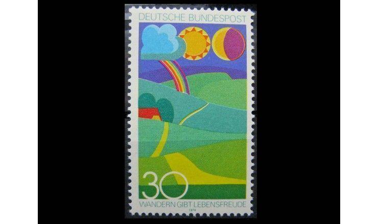 """ФРГ 1974 г. """"Ландшафт"""""""