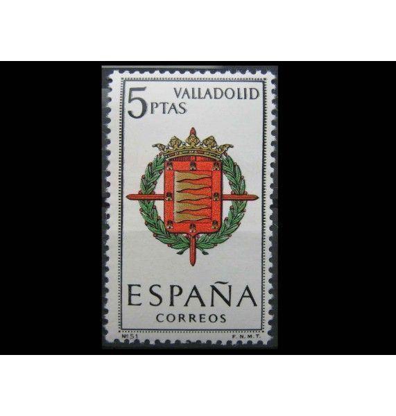"""Испания 1966 г. """"Герб г. Вальядолид"""""""