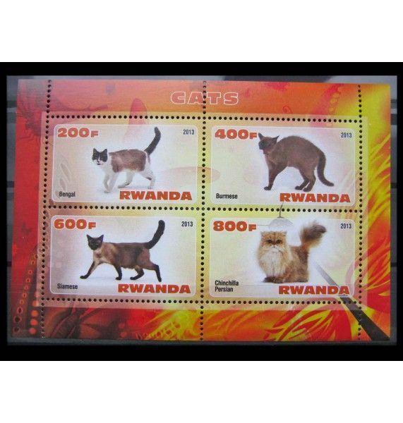 """Руанда 2013 г. """"Кошки"""""""