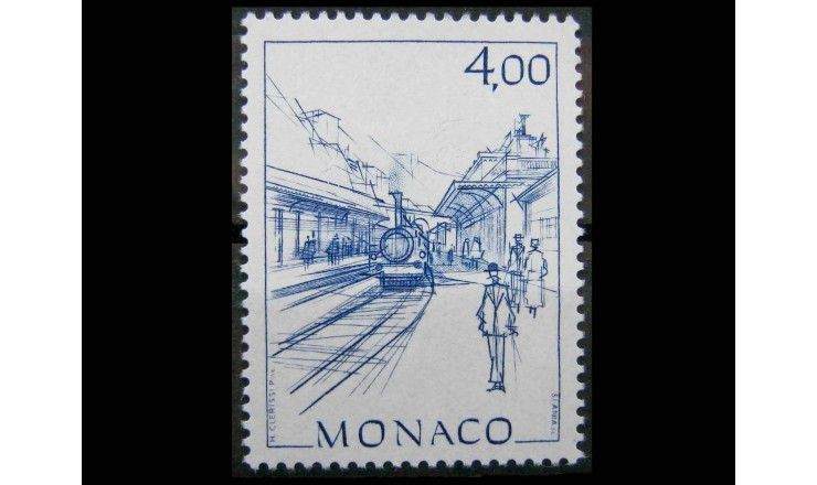 "Монако 1986 г. ""Исторические виды Монако"""