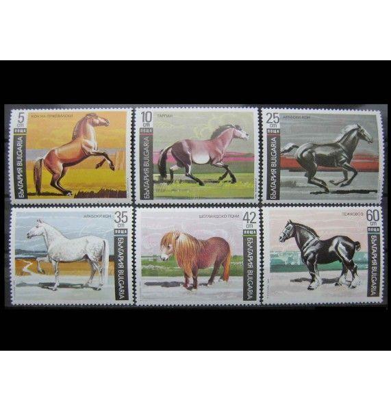 "Болгария 1991 г. ""Лошади"""