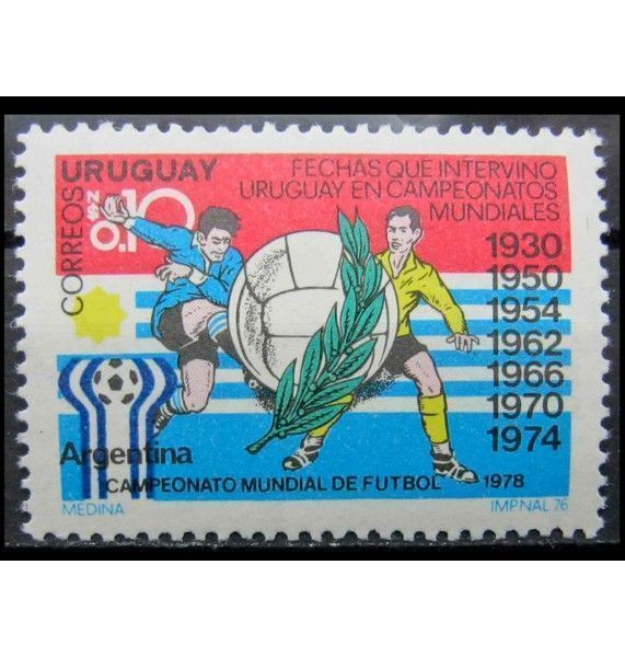 """Уругвай 1976 г. """"Ежегодные события 1976 - 1978"""""""