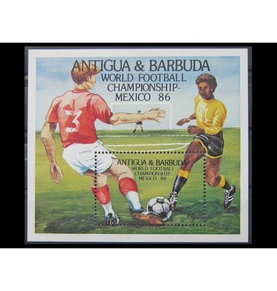"""Антигуа и Барбуда 1986 г. """"Чемпионат мира по футболу, Мексика"""""""
