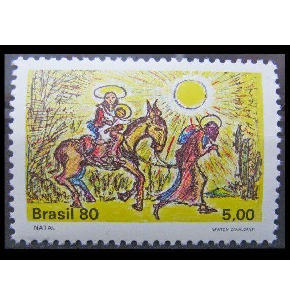 "Бразилия 1980 г. ""Рождество"""