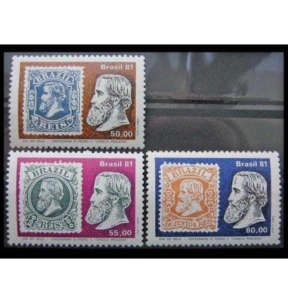 """Бразилия 1981 г. """"День почтовой марки"""""""