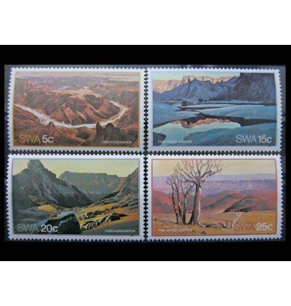 "Юго-Западная Африка 1981 г. ""Туризм: Каньон Фиш-Ривер"""