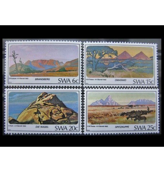 """Юго-Западная Африка 1982 г. """"Горы"""""""