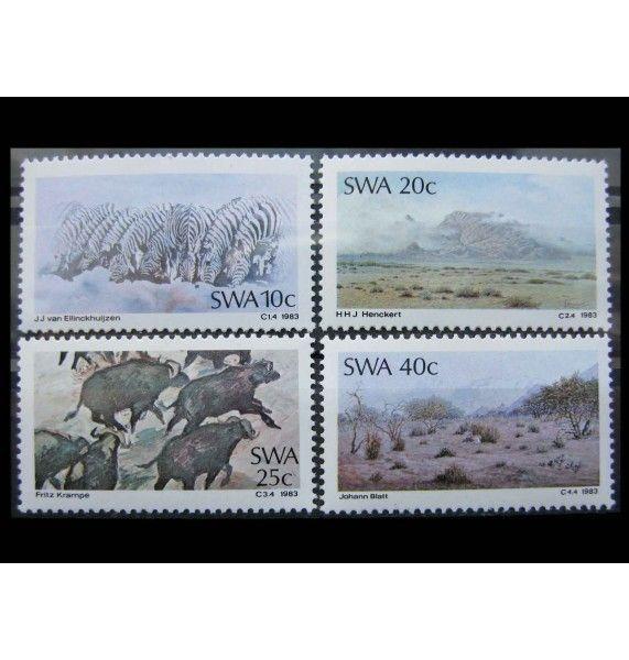"""Юго-Западная Африка 1983 г. """"Картины"""""""