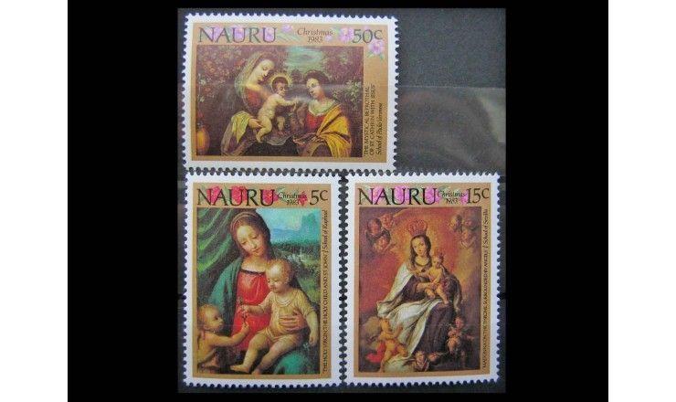 """Науру 1983 г. """"Рождество"""""""