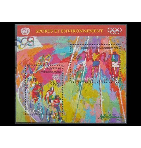 """ООН (Женева) 1996 г. """"100 лет Олимпийским играм нового времени"""""""