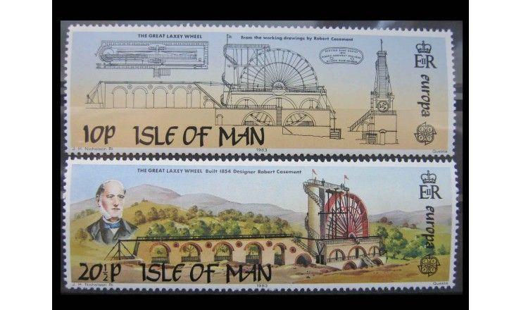 """Остров Мэн 1983 г. """"Европа: Великие достижения"""""""