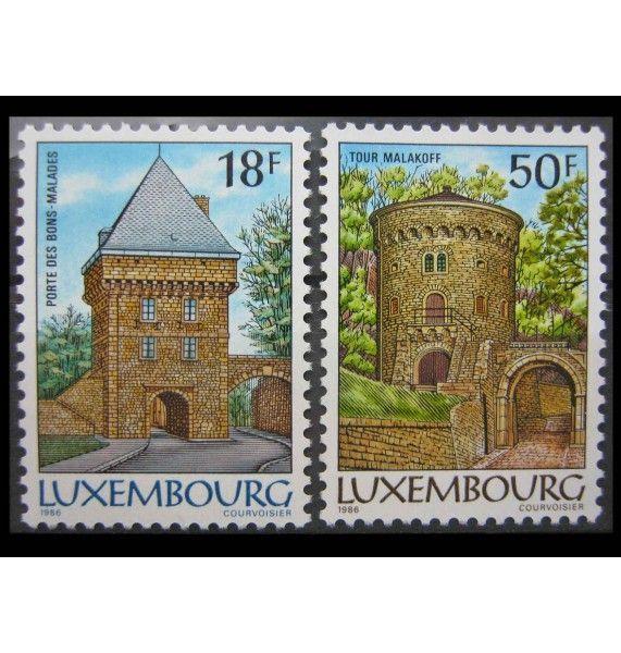 """Люксембург 1986 г. """"Крепости Люксембурга"""""""