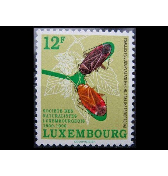 """Люксембург 1990 г. """"100-летие люксембургского общества любителей природы"""""""