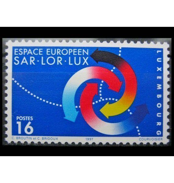 """Люксембург 1997 г. """"Европейский регион Саар-Лор-Люк"""""""
