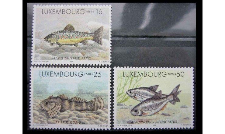 """Люксембург 1998 г. """"Пресноводные рыбы"""""""