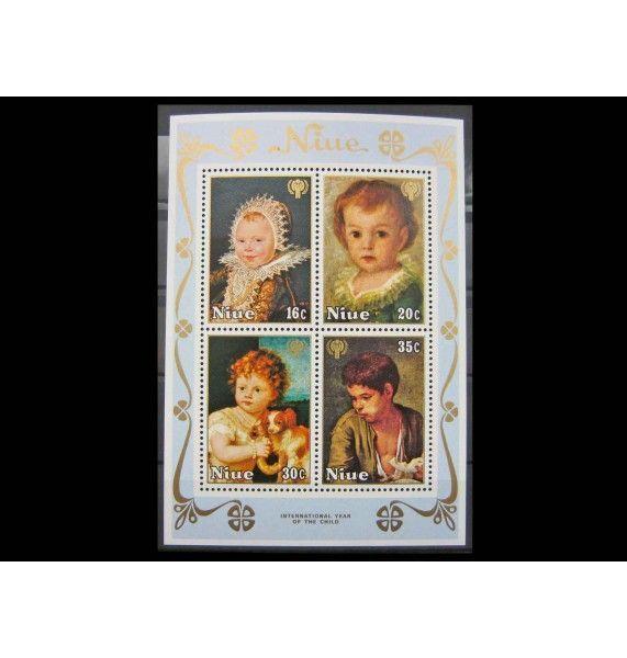 "Ниуэ 1979 г. ""Международный год ребенка: Картины"""