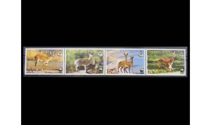 """Свазиленд 2001 г. """"Ориби и Антилопа-прыгун"""""""