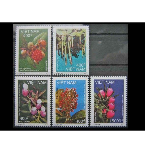 """Вьетнам 2001 г. """"Лесные фрукты"""""""