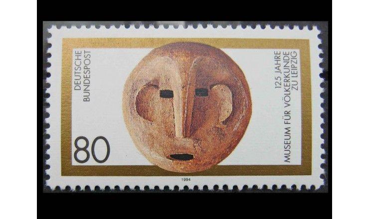 """ФРГ 1994 г. """"125 лет Лейпцигскому музею этнографии"""""""
