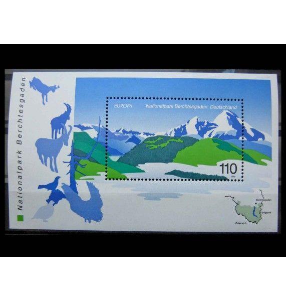 """ФРГ 1999 г. """"Европа: Национальный парк Берхтесгаден"""""""
