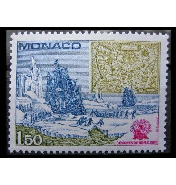 """Монако 1981 г. """"Конгресс Международного арктического научного комитета"""""""