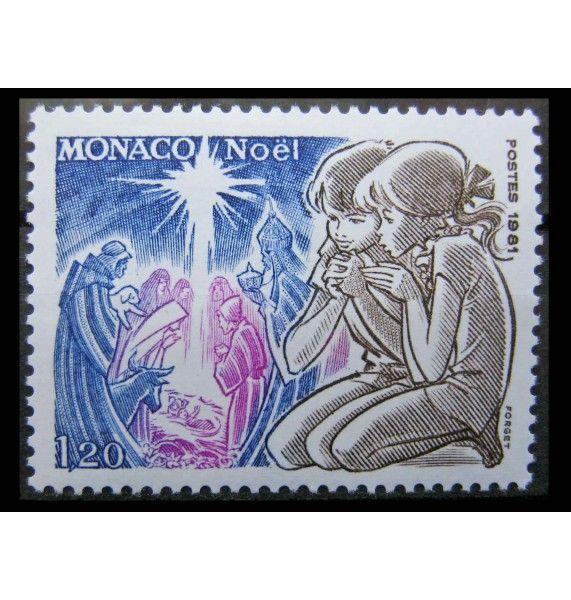 "Монако 1981 г. ""Рождество"""