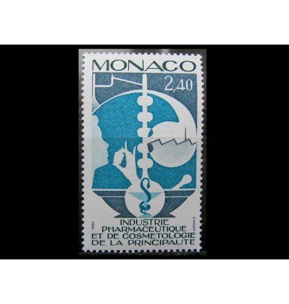 """Монако 1984 г. """"Фармацевтическая и косметическая промышленность"""""""