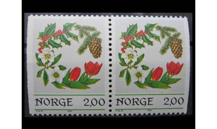 "Норвегия 1985 г. ""Рождество"""