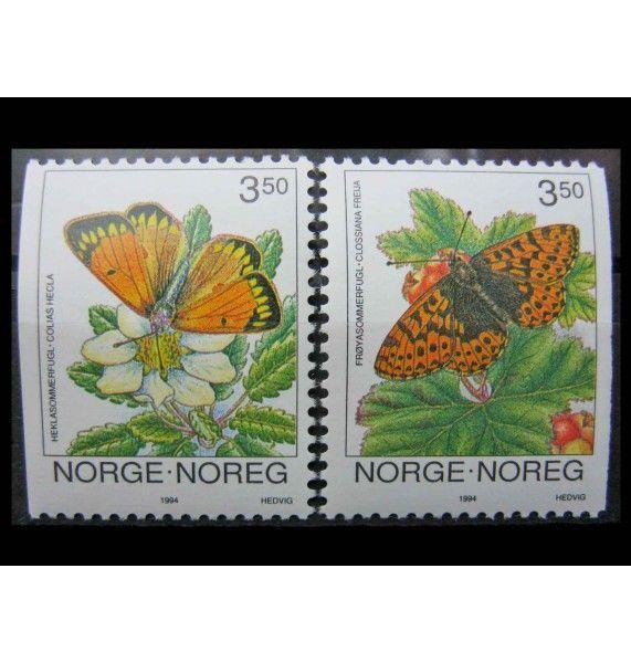 "Норвегия 1994 г. ""Бабочки"""
