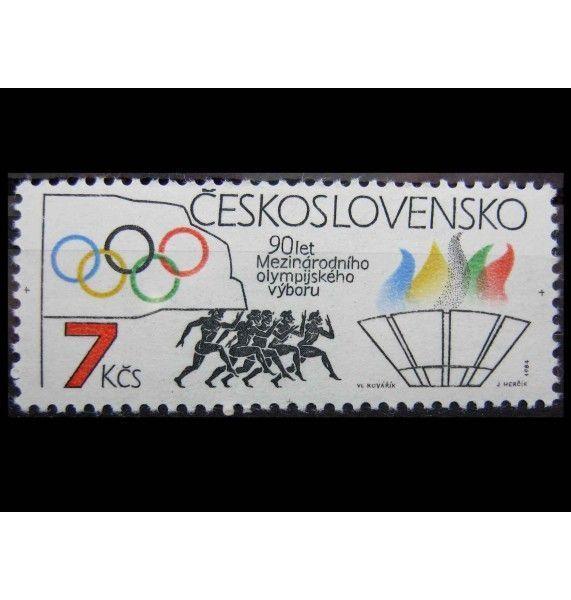 "Чехословакия 1984 г. ""90-летие Международного Олимпийского комитета"""