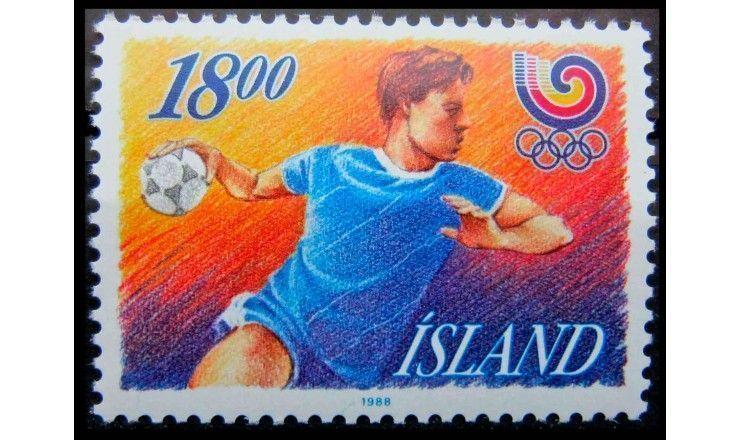 """Исландия 1988 г. """"Летние Олимпийские игры, Сеул"""""""