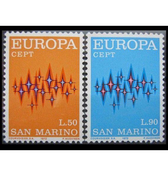 """Сан-Марино 1972 г. """"Европа"""""""