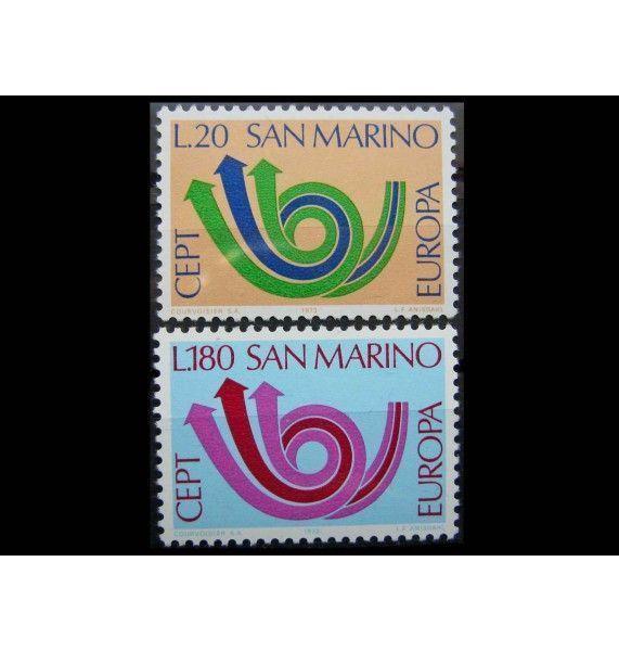 """Сан-Марино 1973 г. """"Европа"""""""