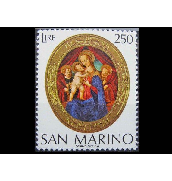 """Сан-Марино 1974 г. """"Рождество"""""""
