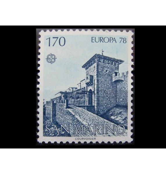 "Сан-Марино 1978 г. ""Европа: Памятники архитектуры"""