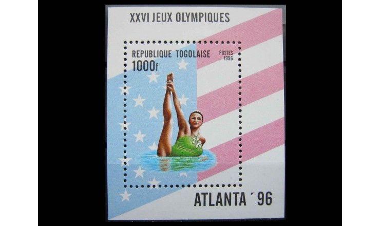 """Того 1996 г. """"Летние Олимпийские игры, Атланта"""""""