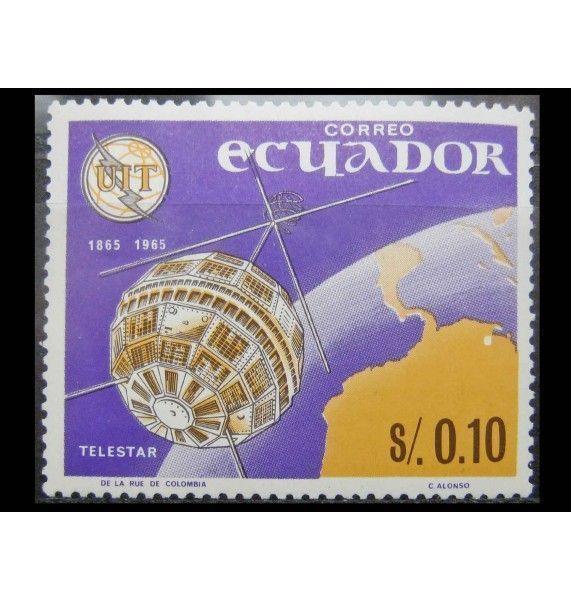 """Эквадор 1966 г. """"100 лет Международному союзу электросвязи (ITU)"""""""