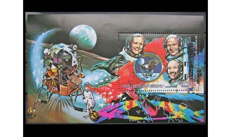 """Гвинея-Бисау 1981 г. """"Успехи космических полетов"""""""