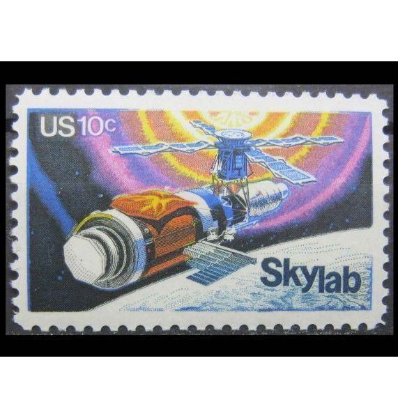 """США 1974 г. """"Космическая компания «Skylab»"""""""