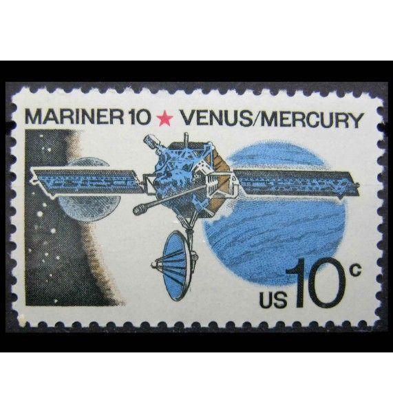 """США 1975 г. """"«Маринер-10» - программа исследования планет Венера и Меркурий"""""""