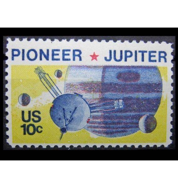 """США 1975 г. """"«Пионер» - программа исследования планеты Юпитер"""""""