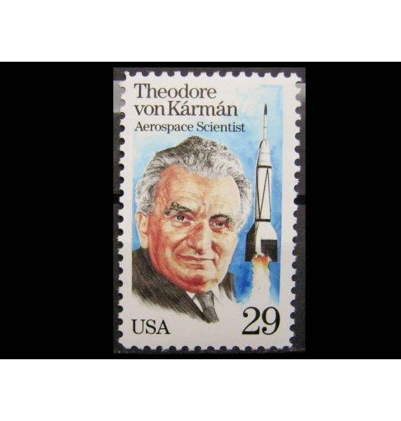 """США 1992 г. """"Теодор фон Карман"""""""