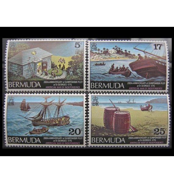 """Бермудские Острова 1975 г. """"Война за независимость США, Пороховой заговор"""""""