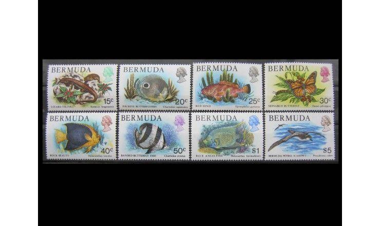 "Бермудские Острова 1978 (1979) г. ""Фауна"""