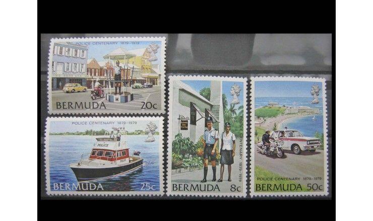 """Бермудские Острова 1979 г. """"150 лет полиции Бермудских Островов"""""""