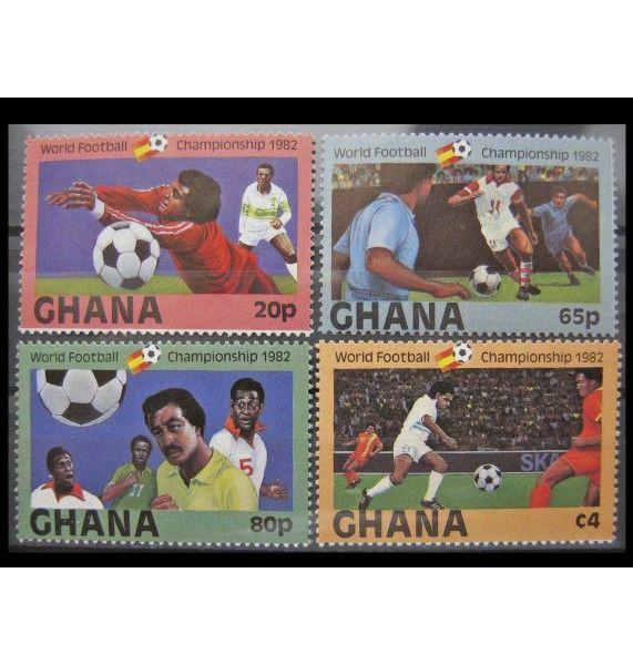 """Гана 1982 г. """"Чемпионат мира по футболу"""""""