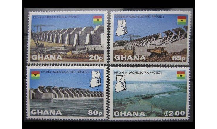 """Гана 1982 г. """"Проект плотины"""""""